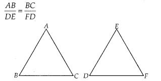 NCERT Exemplar Class 10 Maths Chapter 6 Triangles Ex 6.1 Q10