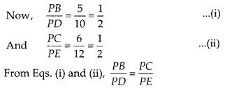 NCERT Exemplar Class 10 Maths Chapter 6 Triangles Ex 6.2 Q4.1