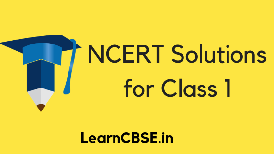 NCERT Solutions for Class 1