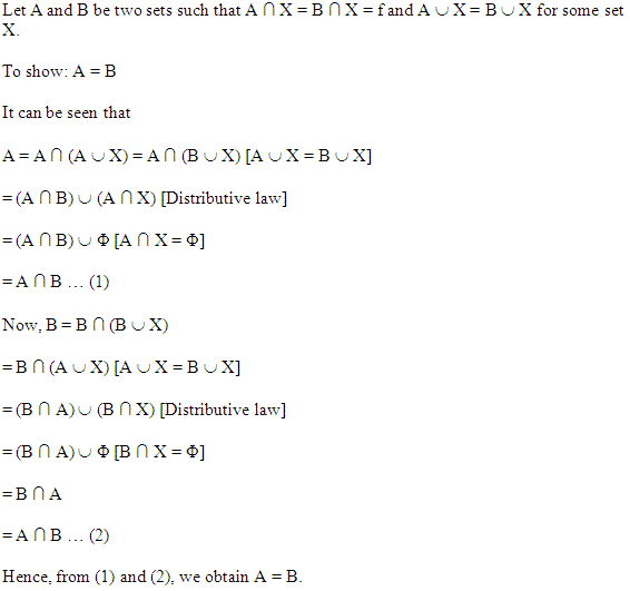 NCERT Solutions for Class 11 Maths Chapter 1 Misc Ex Q 11