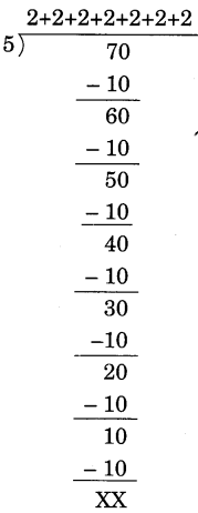 NCERT Solutions for Class 4 Mathematics Unit-11 Tables And Shares Page 129 Q1.2