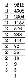 NCERT Solutions for Class 8 Maths Squares and Square Roots Ex 6.3