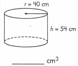 how to calculate volume of a cylinder