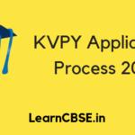 KVPY Application Process 2019