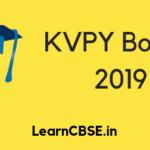 KVPY Books 2019
