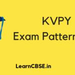 KVPY Exam Pattern 2019