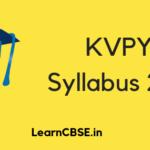 KVPY Syllabus 2019