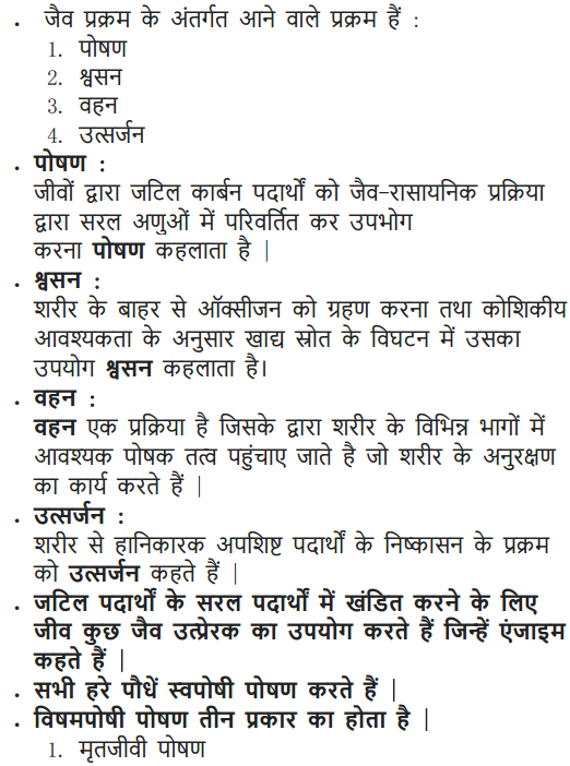 NCERT Solutions for Class 10 Science Chapter 6 Life Processes Hindi Medium 2