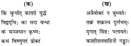 NCERT Solutions for Class 8 Sanskrit Chapter 15 प्रहेलिकाः Q2