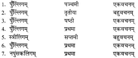NCERT Solutions for Class 8 Sanskrit Chapter 15 प्रहेलिकाः Q4.2