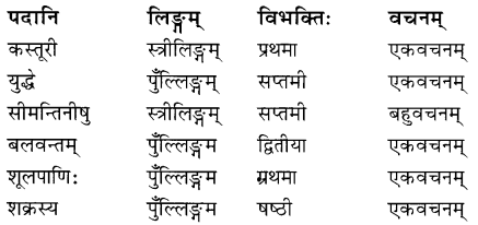 NCERT Solutions for Class 8 Sanskrit Chapter 15 प्रहेलिकाः Q5.1