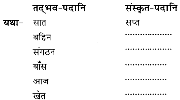 NCERT Solutions for Class 8 Sanskrit Chapter 9 सप्तभगिन्यः Q6