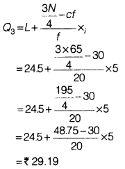 Statistics for Economics Class 11 NCERT Solutions Chapter 5 Measures of Central Tendency Q8.4