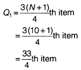 Statistics for Economics Class 11 NCERT Solutions Chapter 6 Measures of Dispersion Q5.1