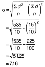 Statistics for Economics Class 11 NCERT Solutions Chapter 6 Measures of Dispersion Q5.11