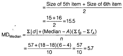Statistics for Economics Class 11 NCERT Solutions Chapter 6 Measures of Dispersion Q5.6