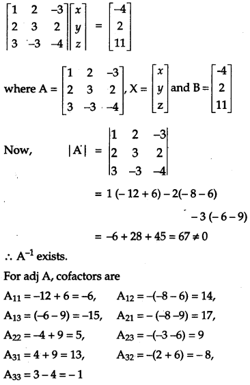 CBSE Previous Year Question Papers Class 12 Maths 2011 Outside Delhi 113