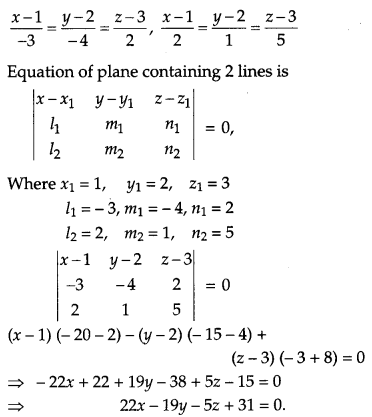 CBSE Previous Year Question Papers Class 12 Maths 2012 Outside Delhi 65