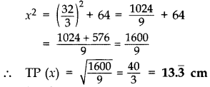 Important Questions for Class 10 Maths Chapter 10 Circles 66