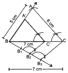 Important Questions for Class 10 Maths Chapter 11 Constructions 17