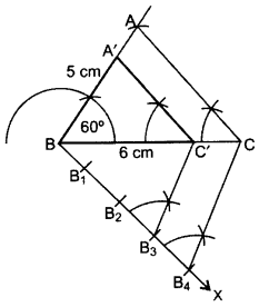 Important Questions for Class 10 Maths Chapter 11 Constructions 22