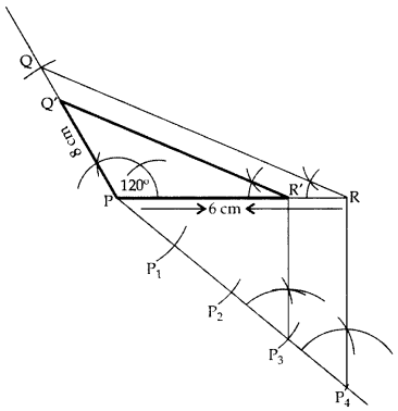 Important Questions for Class 10 Maths Chapter 11 Constructions 6