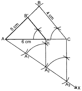 Important Questions for Class 10 Maths Chapter 11 Constructions 8