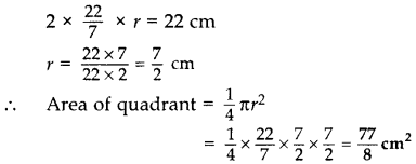 Important Questions for Class 10 Maths Chapter 12 Areas Related to Circles 1