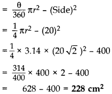 Important Questions for Class 10 Maths Chapter 12 Areas Related to Circles 12