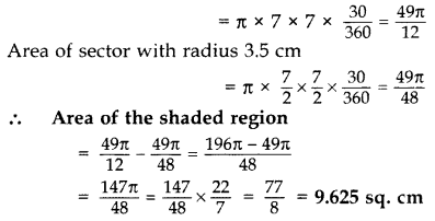 Important Questions for Class 10 Maths Chapter 12 Areas Related to Circles 17
