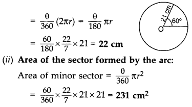Important Questions for Class 10 Maths Chapter 12 Areas Related to Circles 31