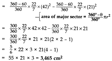 Important Questions for Class 10 Maths Chapter 12 Areas Related to Circles 33