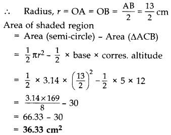 Important Questions for Class 10 Maths Chapter 12 Areas Related to Circles 37