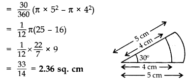Important Questions for Class 10 Maths Chapter 12 Areas Related to Circles 4