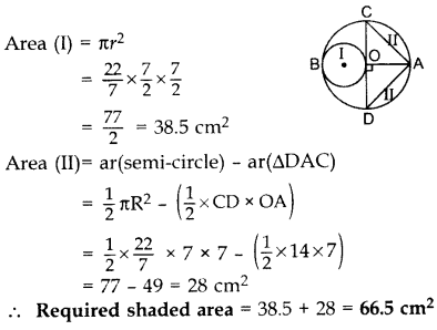 Important Questions for Class 10 Maths Chapter 12 Areas Related to Circles 42