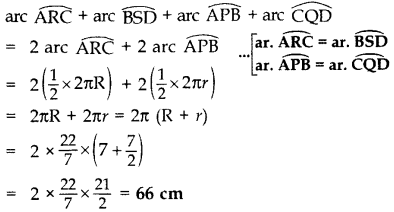 Important Questions for Class 10 Maths Chapter 12 Areas Related to Circles 44