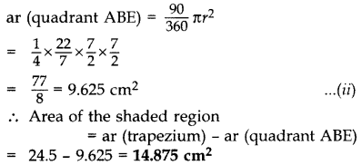 Important Questions for Class 10 Maths Chapter 12 Areas Related to Circles 46