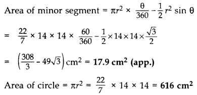 Important Questions for Class 10 Maths Chapter 12 Areas Related to Circles 47