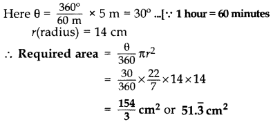 Important Questions for Class 10 Maths Chapter 12 Areas Related to Circles 5