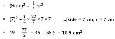 Important Questions for Class 10 Maths Chapter 12 Areas Related to Circles 50