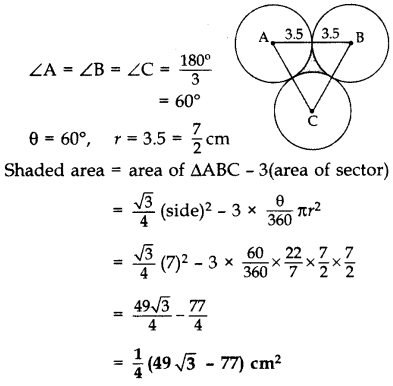 Important Questions for Class 10 Maths Chapter 12 Areas Related to Circles 66