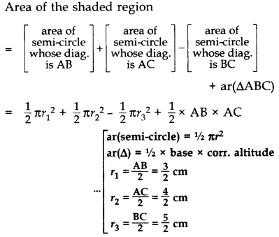 Important Questions for Class 10 Maths Chapter 12 Areas Related to Circles 73