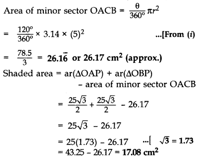 Important Questions for Class 10 Maths Chapter 12 Areas Related to Circles 79