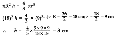 Important Questions for Class 10 Maths Chapter 13 Surface Areas and Volumes 1