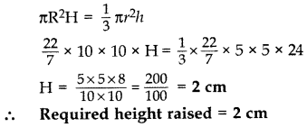 Important Questions for Class 10 Maths Chapter 13 Surface Areas and Volumes 18
