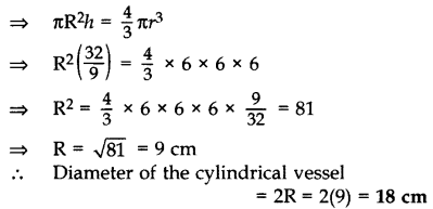 Important Questions for Class 10 Maths Chapter 13 Surface Areas and Volumes 44