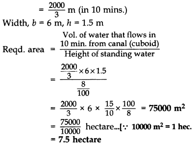 Important Questions for Class 10 Maths Chapter 13 Surface Areas and Volumes 49