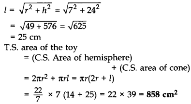 Important Questions for Class 10 Maths Chapter 13 Surface Areas and Volumes 53
