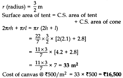 Important Questions for Class 10 Maths Chapter 13 Surface Areas and Volumes 55