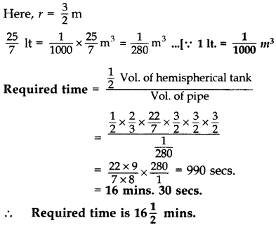 Important Questions for Class 10 Maths Chapter 13 Surface Areas and Volumes 57